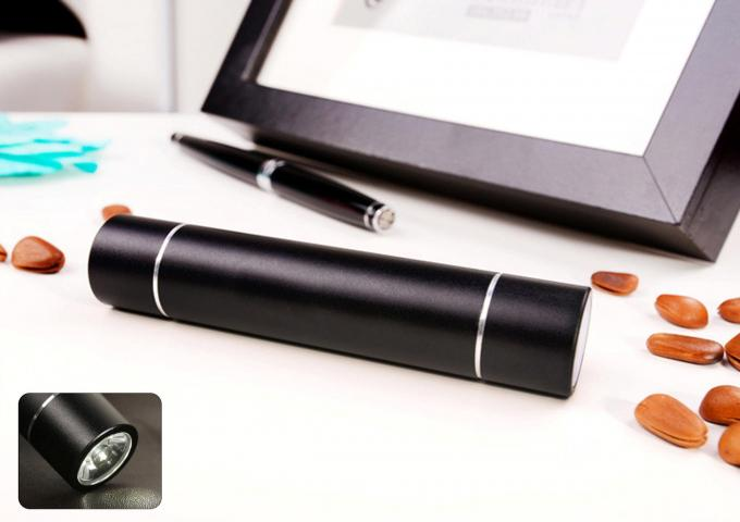 Ultra Slim 2600mah Portable Power Bank  With LED Torch function